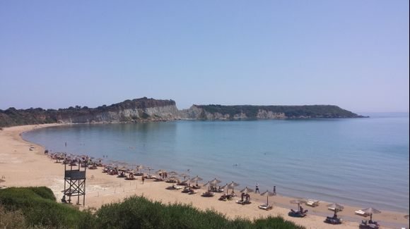 Lovely Gerakas beach