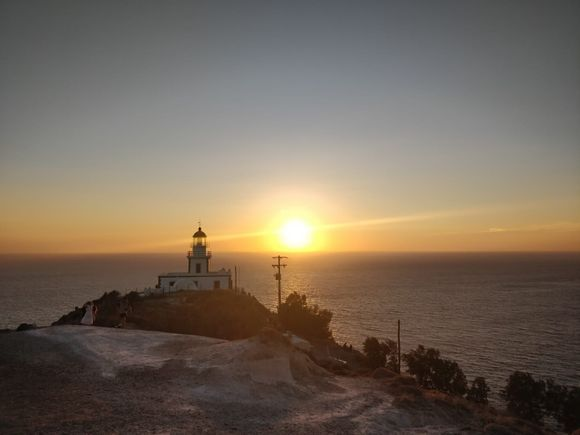 17/5000 Sunset from the lighthouse