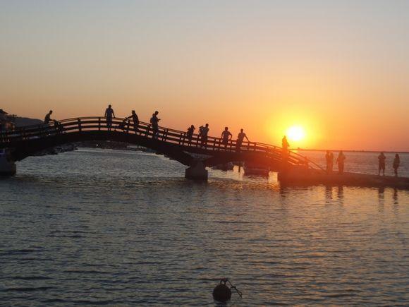 beautiful sunrise in Lefkada