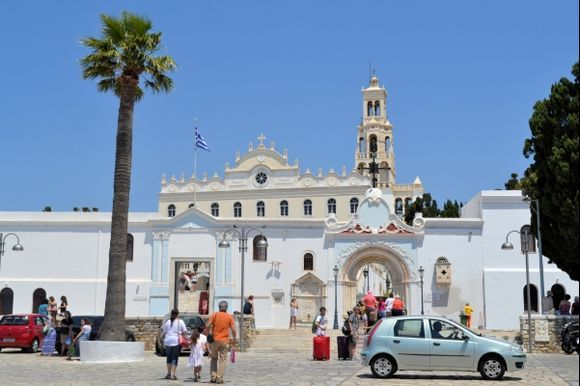 One of the biggest churches of mother of god in Greece.