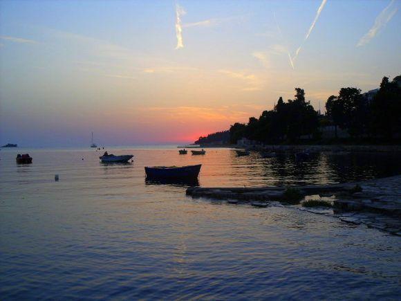 Sunset at Vassiliki village