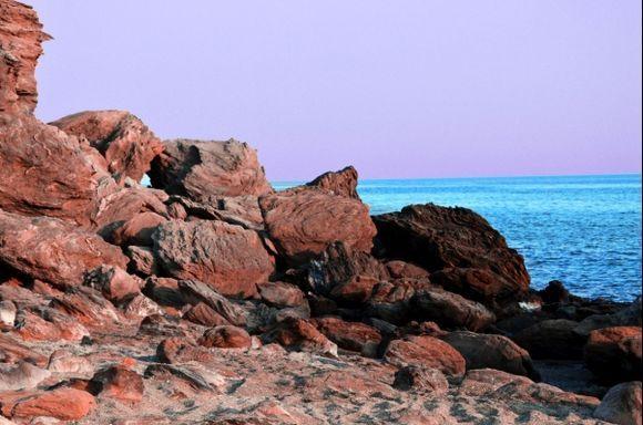 Rocks on Agia Kyriaki