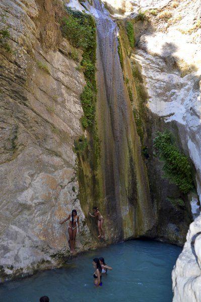 Waterfalls of Nidri