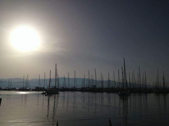 The serenity of Lefkada at the morning hours!!