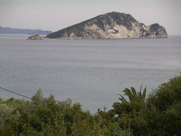 Marathonisi island near to Keri village of Zakynthos