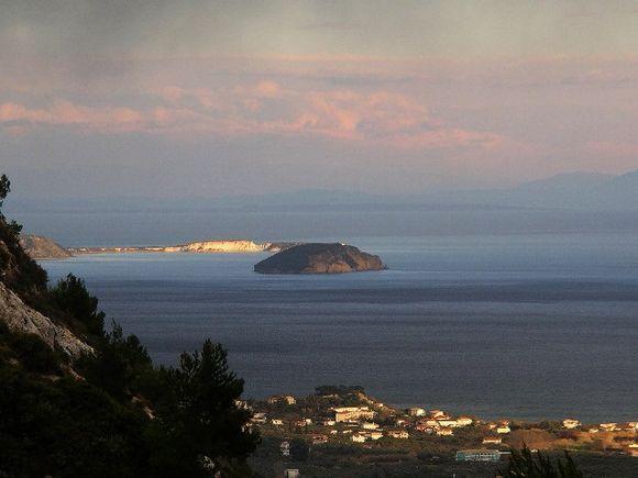 Gerakas and Belouzo. Protecting areas from the National Marine park of Zakynthos