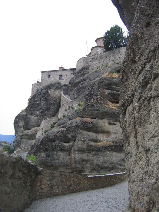 VIEW FROM MONASTERY VARLAAM