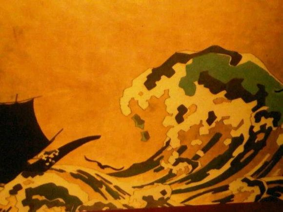Easter 2012 I visited the Museum of Asian Art Corfu with Hiroshige and other wonderful Japanese Art Work on show.