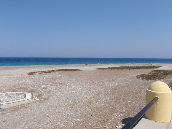 beach of rhodos
