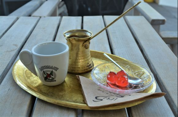 THE way to serve coffee :)