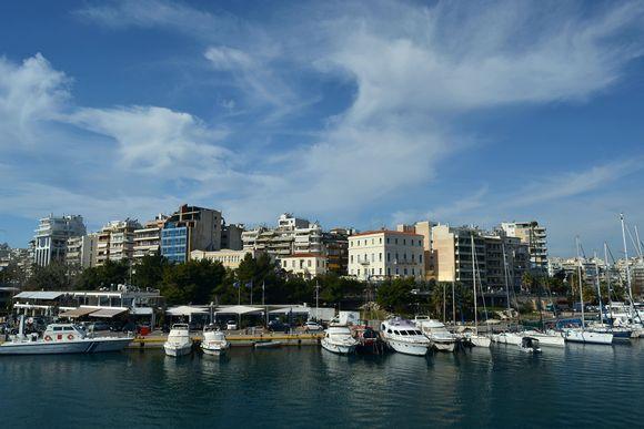 Beautiful day in Pireas