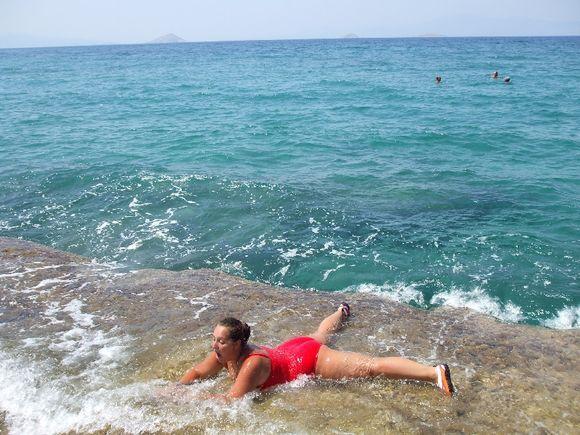 Agia Marina beach, AeginaAgia Marina beach,
