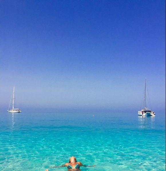 Kefalonia Island  Myrthos beach