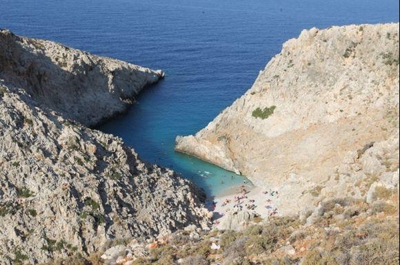 Chania seitan limania beach