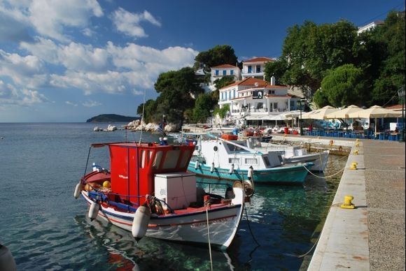 Skiathos Town Old Harbour