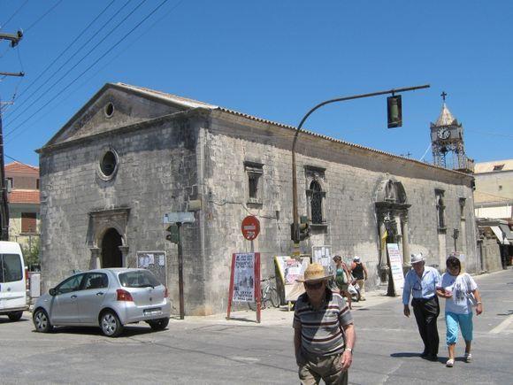 A chapel on the main street.