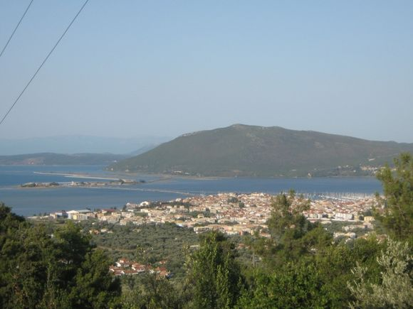 View of Lefkas.
