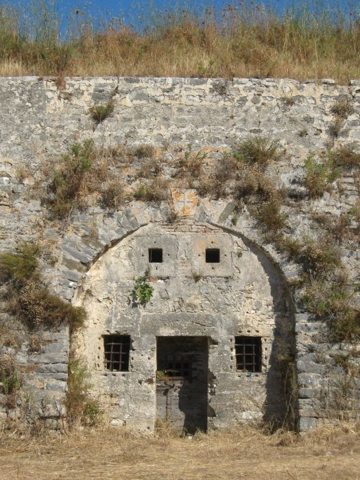 A prison in the fortress.
