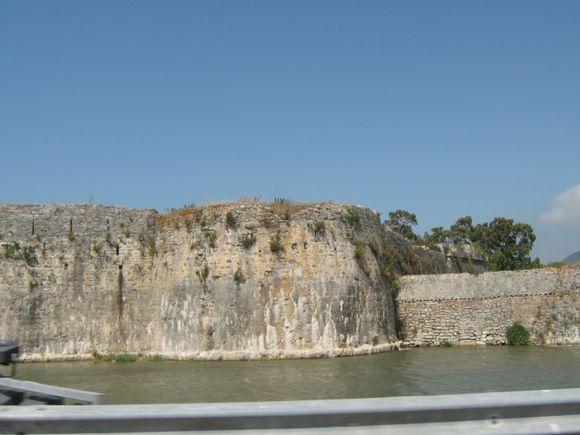 The fortres Santa Maura.
