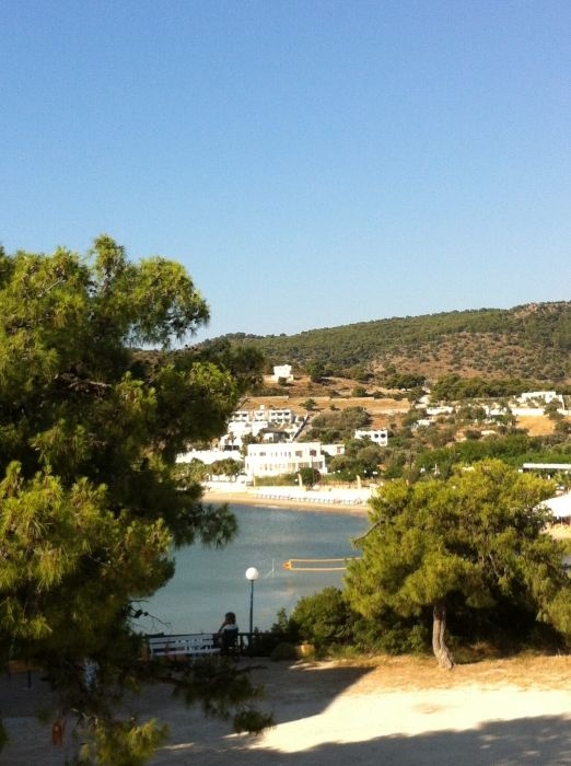 View from Hotel Rachel balcony
