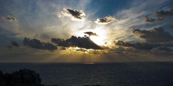 sunset in Keri