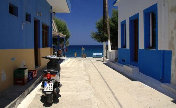 famous street from Diafani