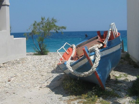 A rest for a boat
