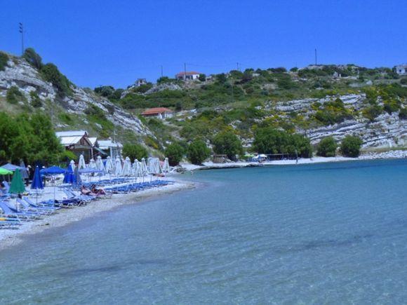 Beach in Pythagoreio