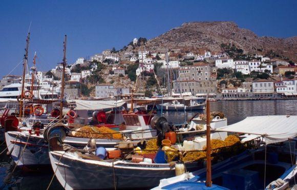 The Plaisance port of Hydra