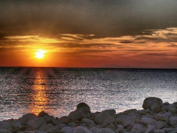 Mykonos, view at sunset