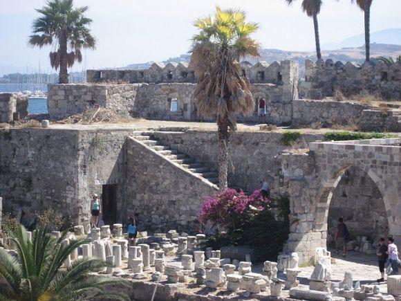 Inside Neratzia Castle