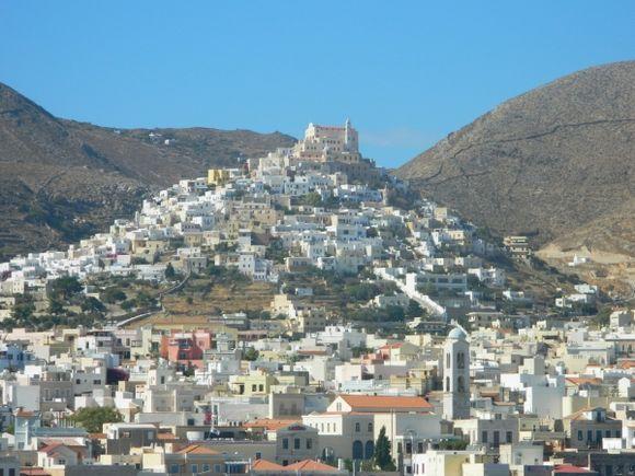 Ano Syros hill