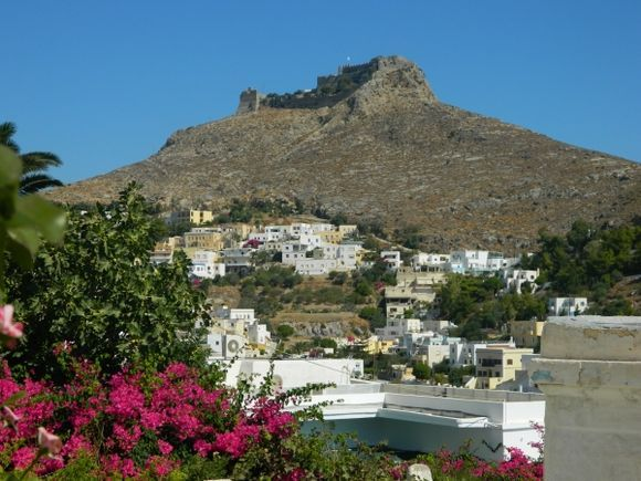 Castle Pandeli and Platanos