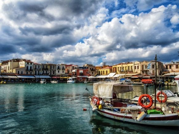 The venetian harbour - another view.