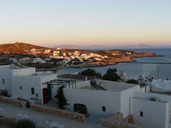 Village of Stavros at dawn