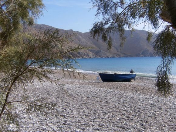 October afternoon at Eristos beach