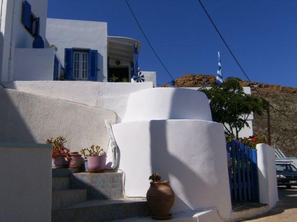 Whitewashed house at Chora