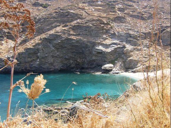 Syneti beach, near Syneti village 7 km from Chora