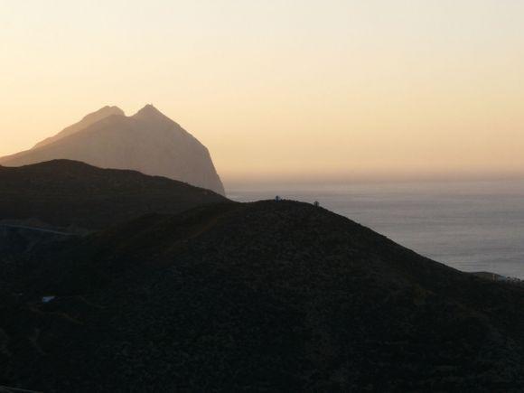 Kalamos rock at dawn