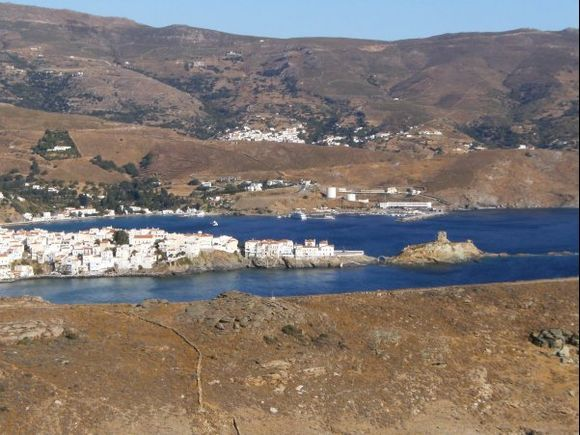 View of Chora and Kastro