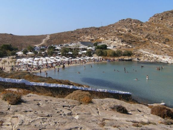 View of Monastiri beach from the Monastery
