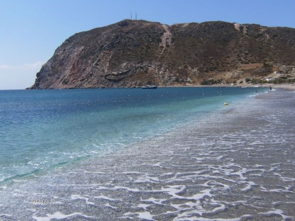 incredible colours at Agia Kyriaki beach
