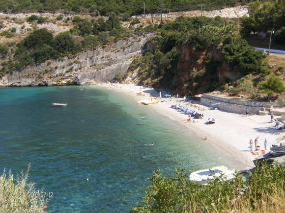 Makri Gialos beach