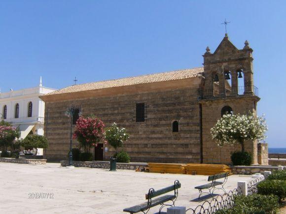 Church of Agios Nikolaos in Zakynthos town