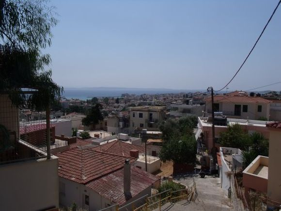 Overview of Chios town. (July 2013)