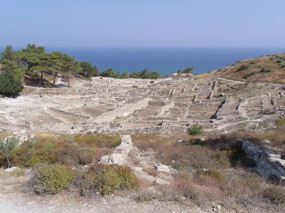 View from acropolis, Ancient Kamiros, August 2010