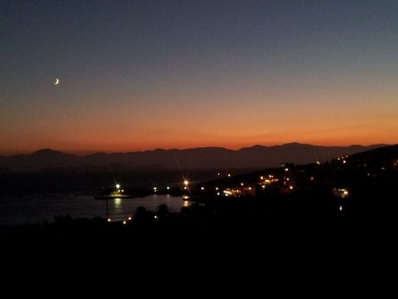 Stavros by night