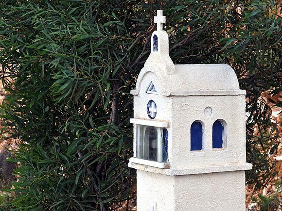 Road-side chapels series: at Kinidharos, Naxos