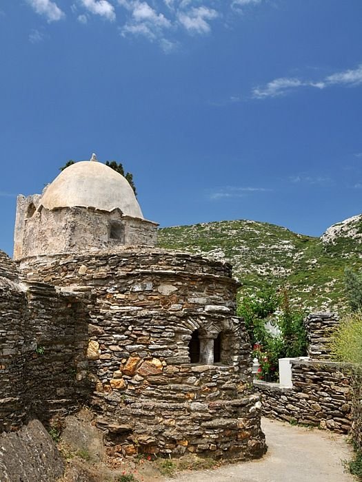 Probably the oldest church in Naxos: 6th/7th century