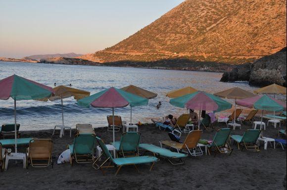 Bali Beach Crete Sunset Light